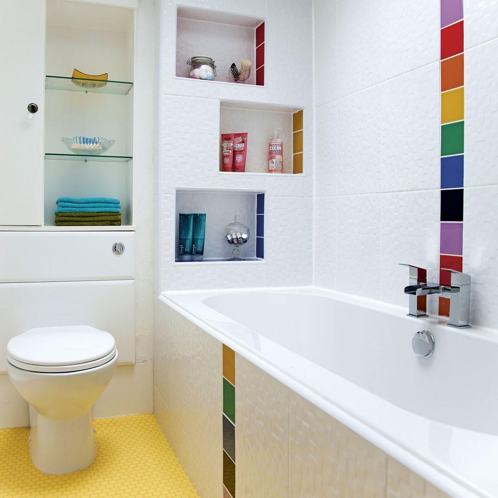 Leidingen in de badkamer verbergen