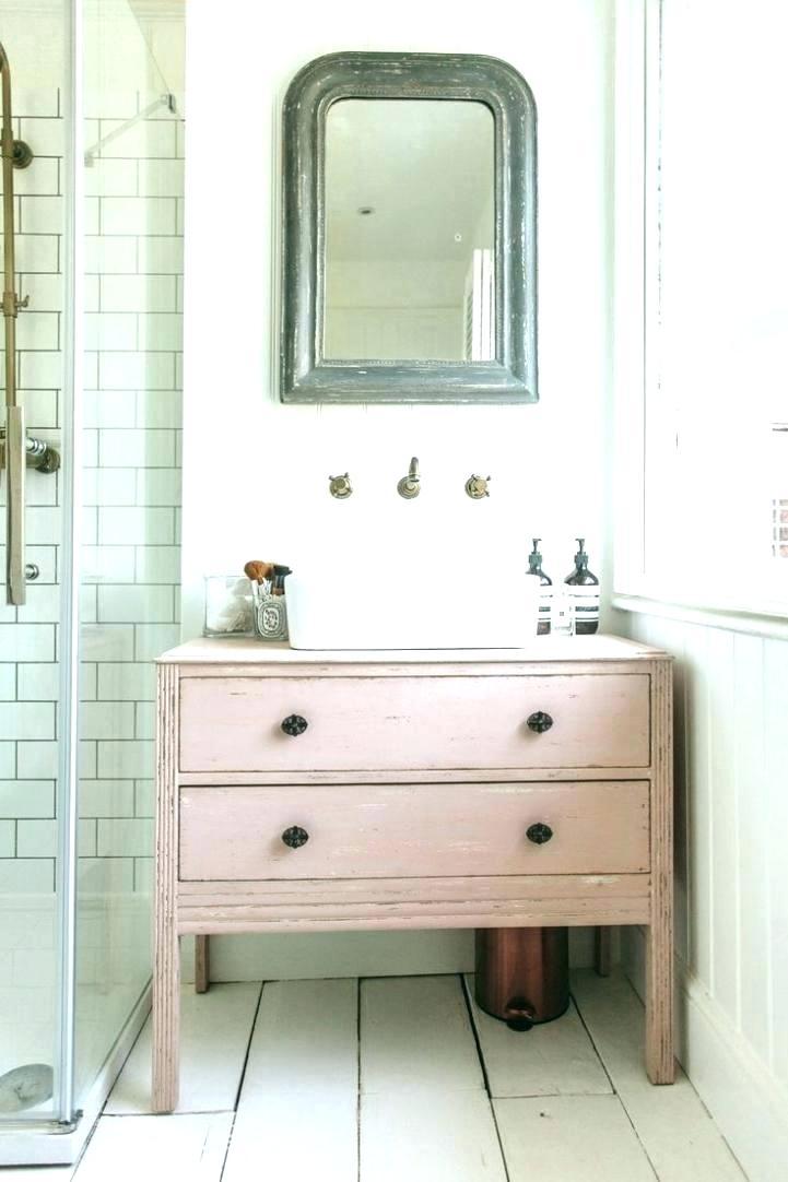 Roze badkamer idee